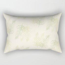 Ferns All Over Rectangular Pillow