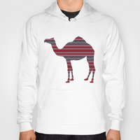 camel Hoodies featuring Camel by Ain Clothing