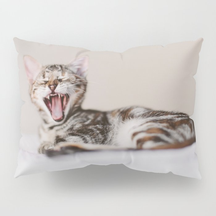 Sleepy cat Pillow Sham