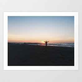 Sunrise at Culburra #2 Art Print