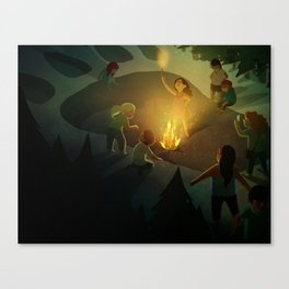 The Giant! Canvas Print