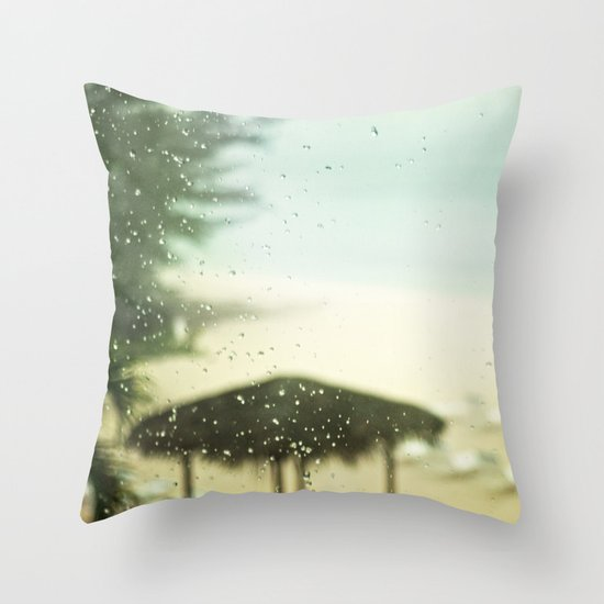 Bittersweet Melodies Throw Pillow