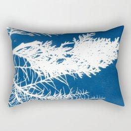 Cyanotype Rectangular Pillow