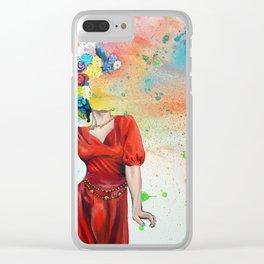 Blaire Hamilton Clear iPhone Case