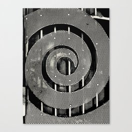 Swirling Fence Canvas Print