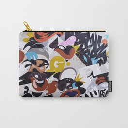 Street mural art Graffiti Photograph for home decoration. Carry-All Pouch