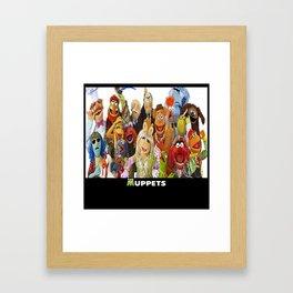The Muppets Framed Art Print