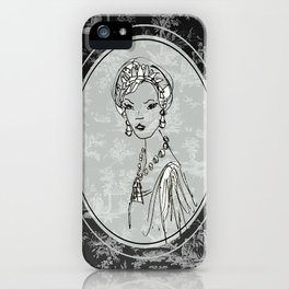 Belle de Jouy 2 iPhone Case