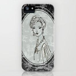Belle de Jouy 2 iPhone Case