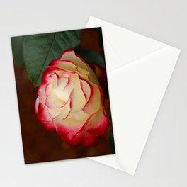Cherry Parfait Rose Stationery Cards