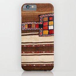 Bakhtiari Chahar Mahal  Northeast Persian Tasheh Print iPhone Case