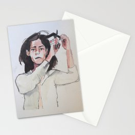 Patti Smith Gets a Haircut Stationery Cards