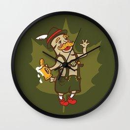 Bratoberfest Wall Clock