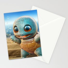 Realistic Squirtle Stationery Cards