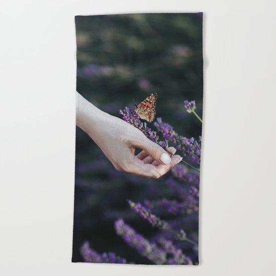 Butterfly effect Beach Towel