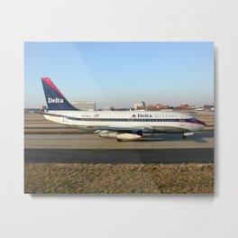 Delta Airlines 737-200 Metal Print