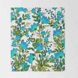 Blue #society6 #decor #buyart Throw Blanket