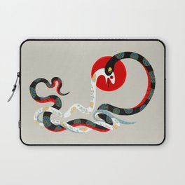 Snake and flowers 3 Laptop Sleeve