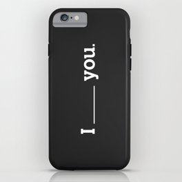 NO FEELING IS PERMANENT iPhone Case