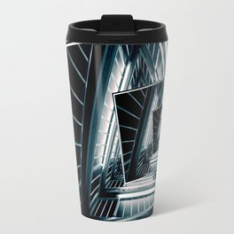 Path of Winding Rails Travel Mug