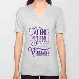PATIENCE AND SILENCE Unisex V-Neck