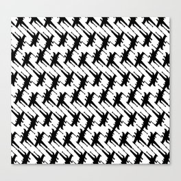 Xtooth Canvas Print