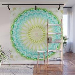 Mandala fresh turquoise     Wall Mural