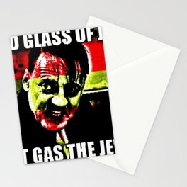 Glass Of Gas Stationery Cards