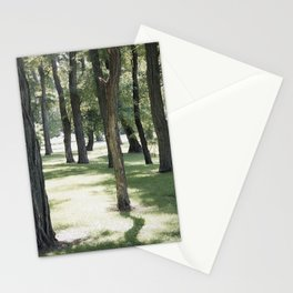 shadow play Stationery Cards