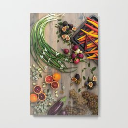 JULY -- Drunk Brunch, Meatpacking.  Metal Print