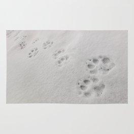 Yellow Stone - Wolf Tracks Rug