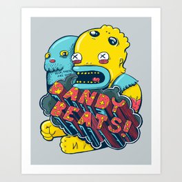 Dandy Beats Art Print