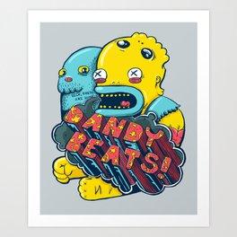 Dandy Beats Art Print