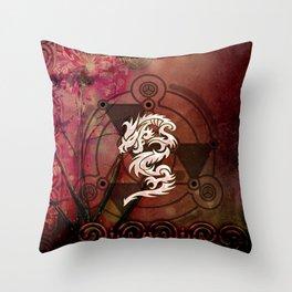 Wonderful chinese dragon Throw Pillow