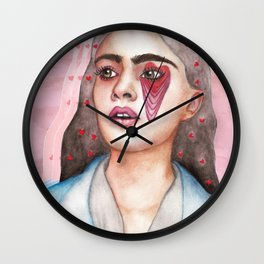 Heart Melting Wall Clock