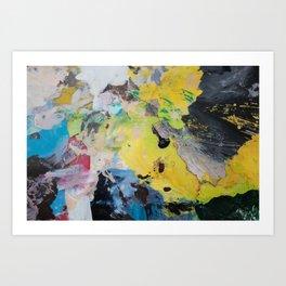 The Artist's Remains #1 Art Print