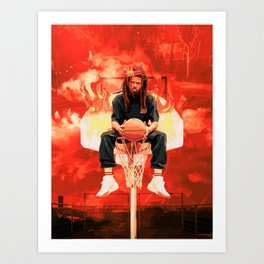 Slam for the Off-Season Art Print
