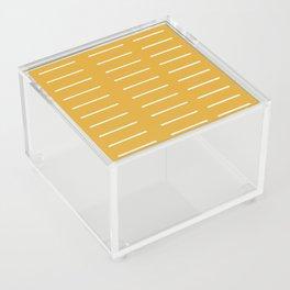 organic / yellow Acrylic Box