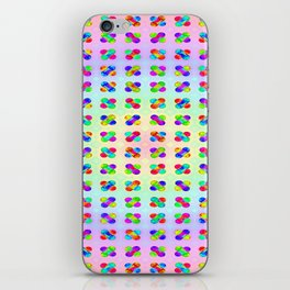 Colorful funny ... iPhone Skin