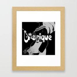 Tragique  Framed Art Print