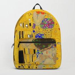 Gustav Klimt The Kiss Backpack