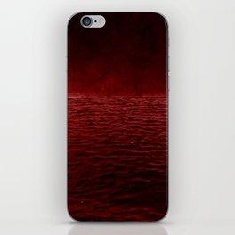 red sea iPhone Skin