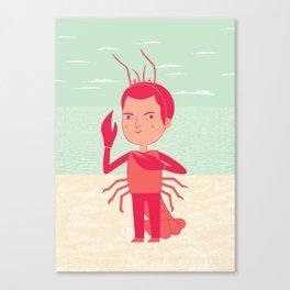 Lobster Boy Canvas Print