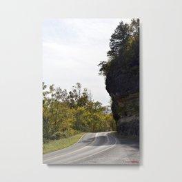 Hanging Rock & Peavine Hollow Series, No. 8 Metal Print