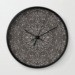 Dot Mandala Wall Clock