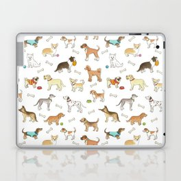 Breeds of Dog Laptop & iPad Skin