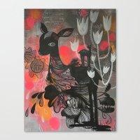 Killer Tulips Canvas Print