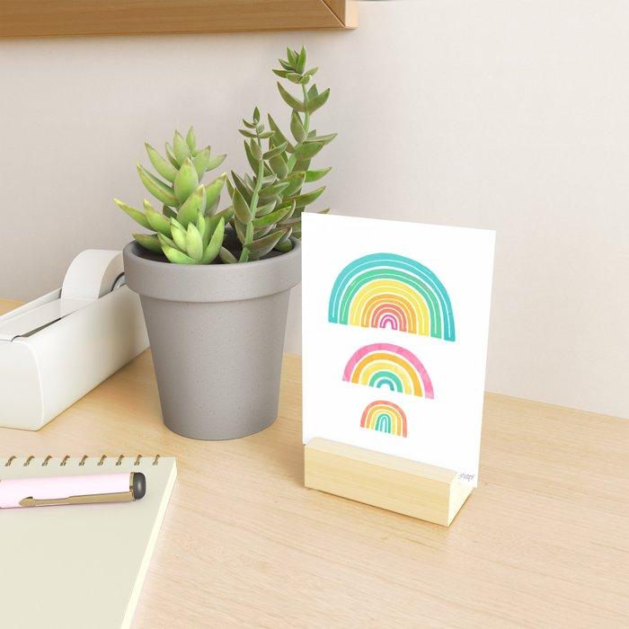 Rainbows Mini Art Print