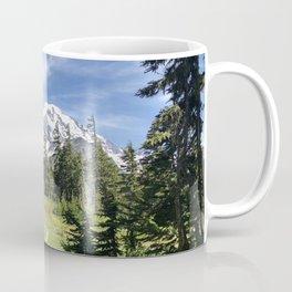 Mount Rainier from Spray Park Coffee Mug