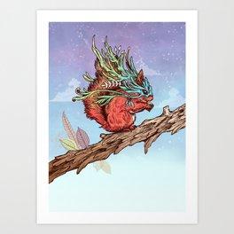 Little Adventurer Art Print
